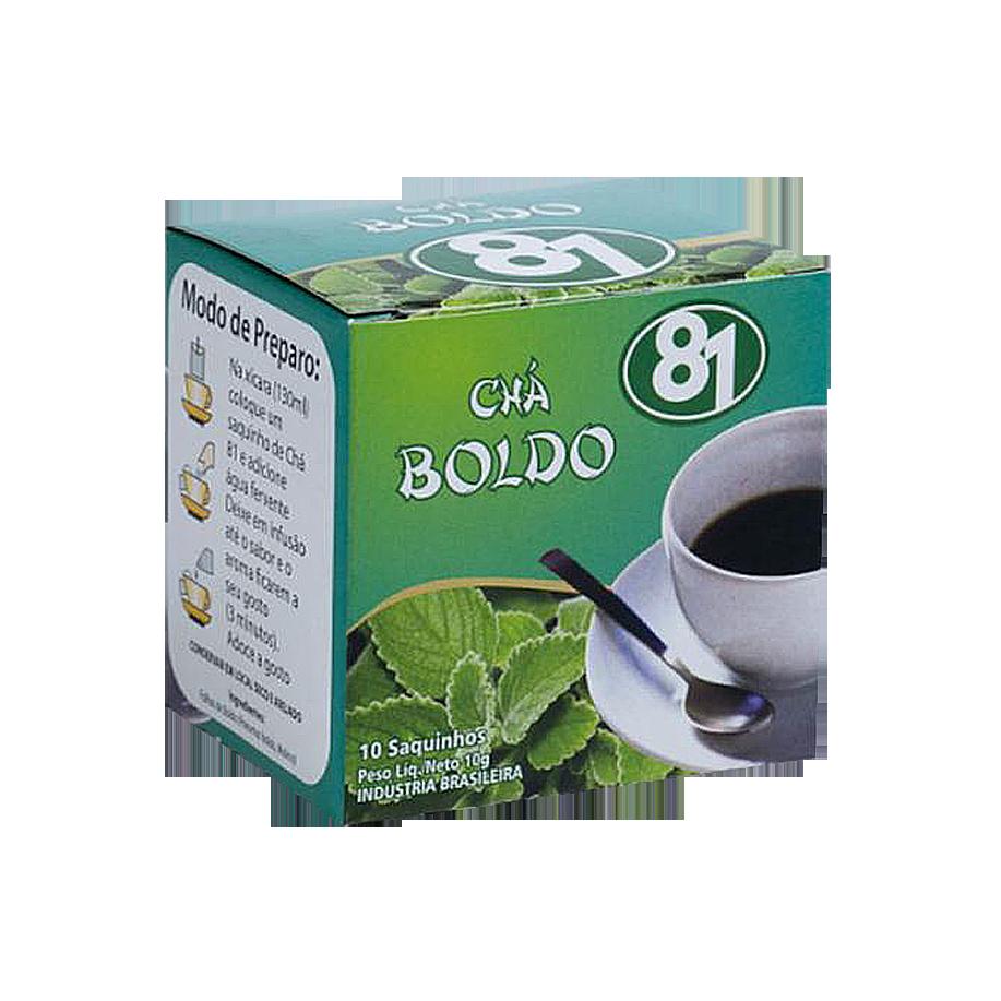 Chá Mate 81 – Boldo 10g