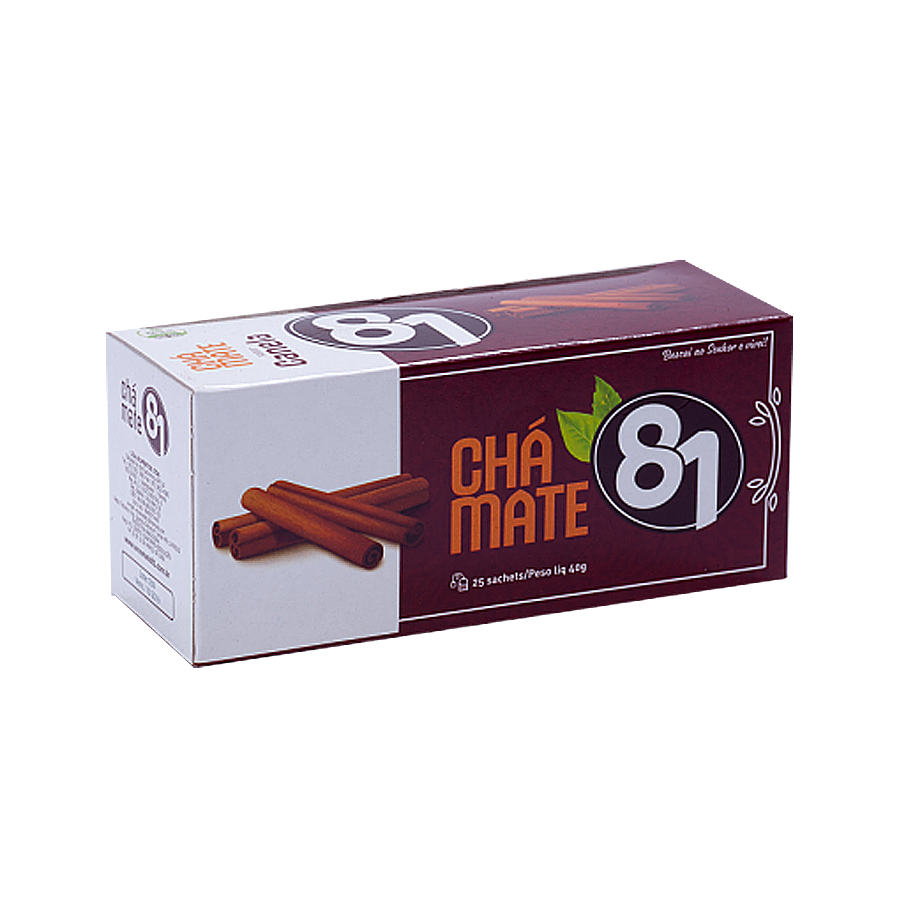 Chá Mate 81 – Canela 40g